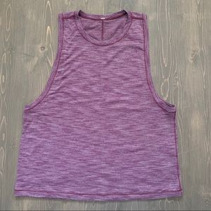 Lululemon Maroon Sleeveless T Shirt